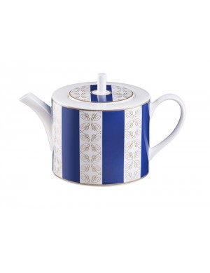 Home collection Blumarine bleu teapot - coffee porcelain