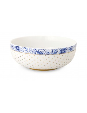 Pip Studio royal white bowl