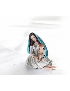 Sibania Madonna colección figura de porcelana encima de las nubes