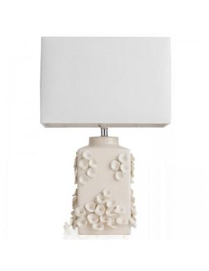 Brandani lamp ceramic ivory agate cm 36x22x56h