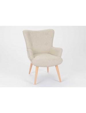 Hilda silla de diseño de Amadeus, ceniza gris