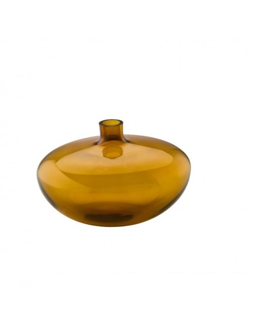 Vaso swinging amber clear rosenthal maison bel for Vaso fast rosenthal