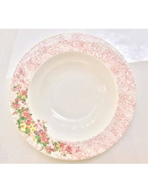 Blumarine plate background soup plate