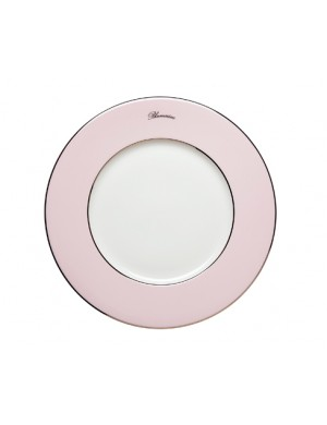 Blumarine pink charger plate
