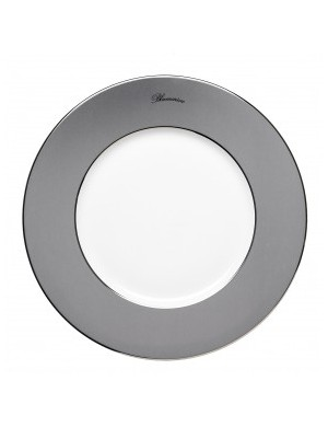 Blumarine grey charger plate