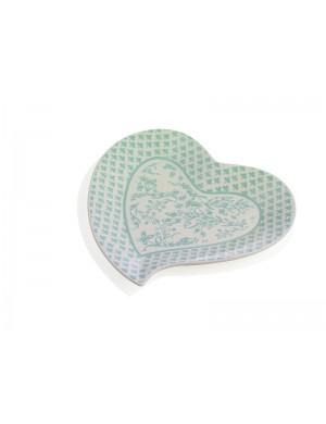 Brandani vassoietto cuore alice in stoneware