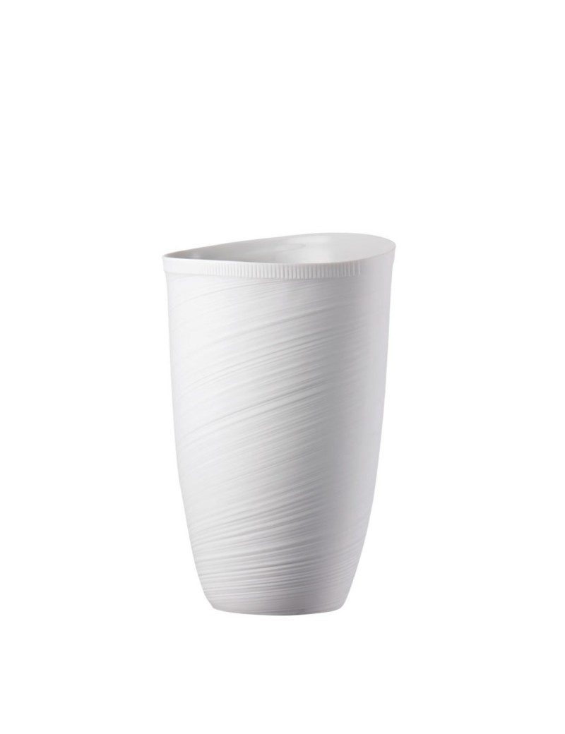 Vaso rosenthal papyrus relief wei porcellana bianca for Vaso fast rosenthal