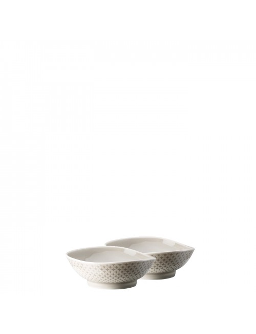 Rosenthal Set 2 coppette  Junto Pearl Grey
