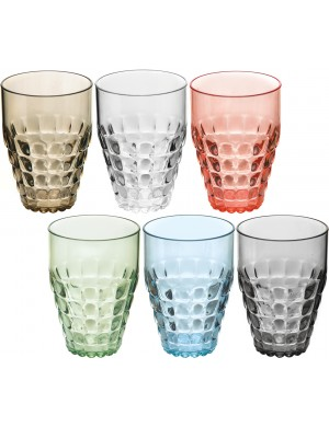 Bicchiere alto  Guzzini thiffany set sei pezzi