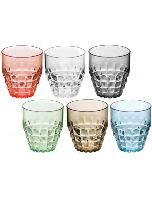 Bicchiere basso Guzzini thiffany set sei pezzi