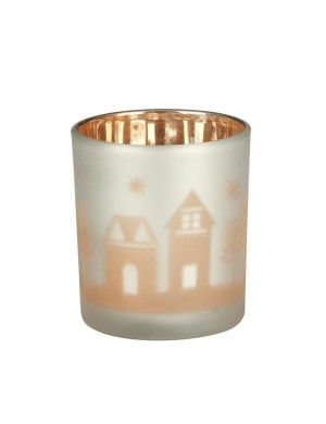 Yankee candle porta votivo winter village