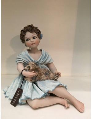 Sibania DAMA 3  colección figura de porcelana de todo un poco