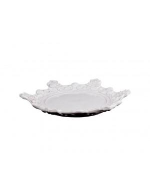 VIRGINIA CASA - Piatto dessert corona reale