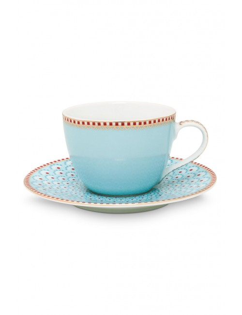 New Pip Studio Ribbon Rose Espresso Cup u0026 Saucer - Pink  sc 1 st  Maison Bel & Pip Studio 6 coffee cups and saucers - Maison Bel