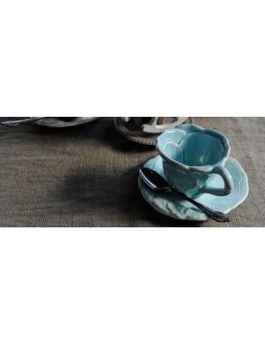 VIRGINIA HOME SET 2 COFFEE CUPS - ROMANTIC LINE-