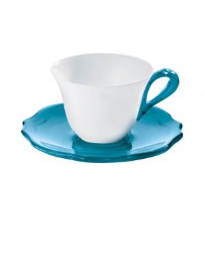 GUZZINI SET 6 TAZZINE CAFFE' CON PIATTINI