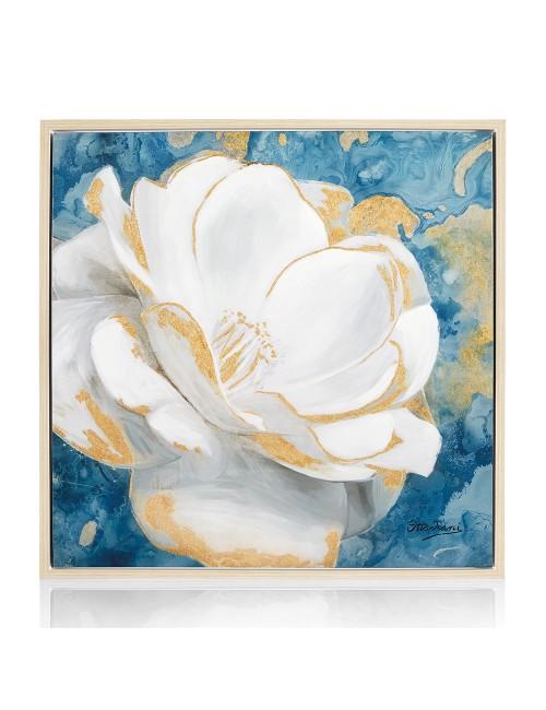 """OTTAVIANI Quadro su tela """"Magnolia"""" con superficie lucida"""