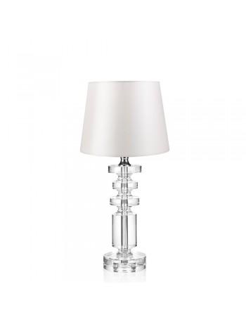 Ottaviani Kristalllampe mit Stoffhaube