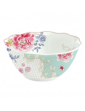 Chinoiserie bowl in porcelain diam. 11.5 cm.