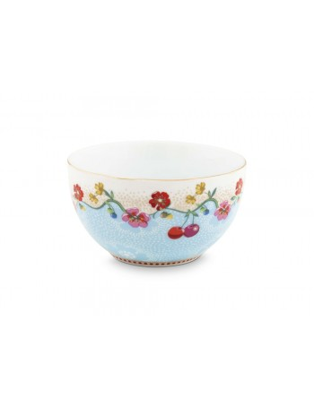 Pip Studio Small blue floral bowl