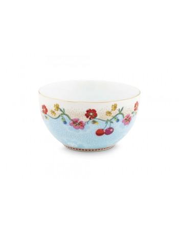 Pip Studio Pequeño cuenco floral azul