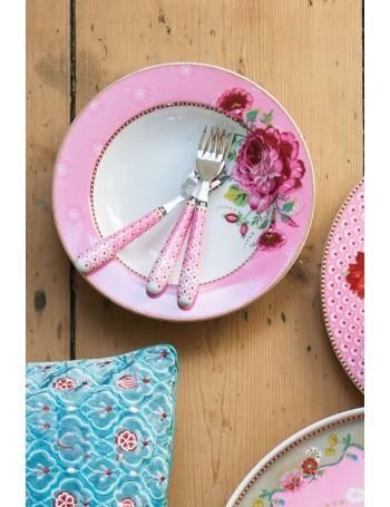 PiP Studio Piatto fondo rosa