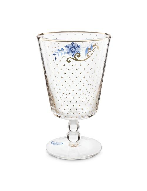 Pip Studio Bicchiere Basso  Acqua  Royal Golden Dots 360 ml