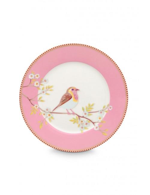 Pip Studio- 6 Piatto  dessert  - Rosa ⌀ 21 CM