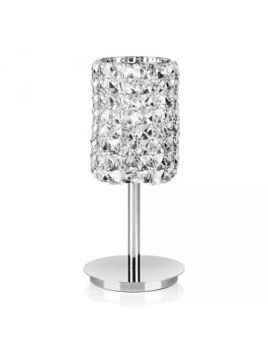 OTTAVIANI LAMP  MET.SILVER C/CRISTAL ''CHIC'' GR 21439