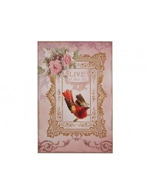 Bild rosa Modell zu Hause verwöhn Shabby Chic
