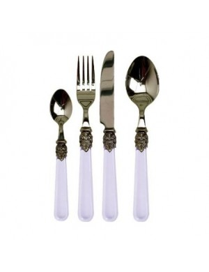 Set 24 Cutlery 'clear'