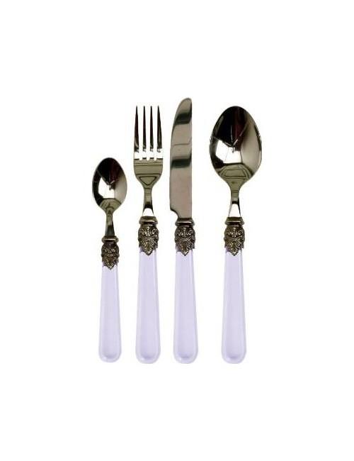 Set 24 Cutlery 'clear'