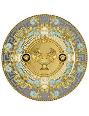 Versace Prestige Gala marcador de posición Bleu Plate 30 cm
