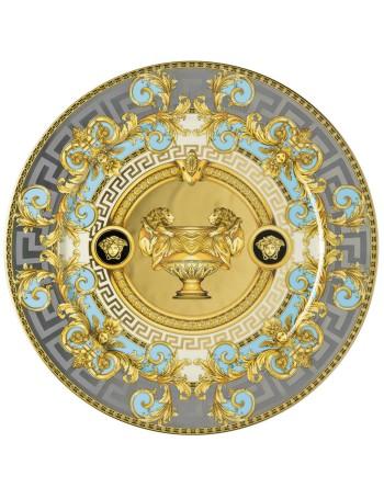 Versace Prestige Gala placeholder Bleu Plate 30 cm