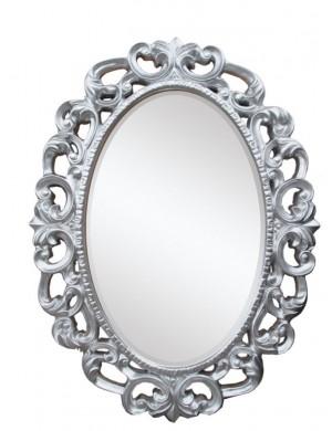 specchio glamour argento