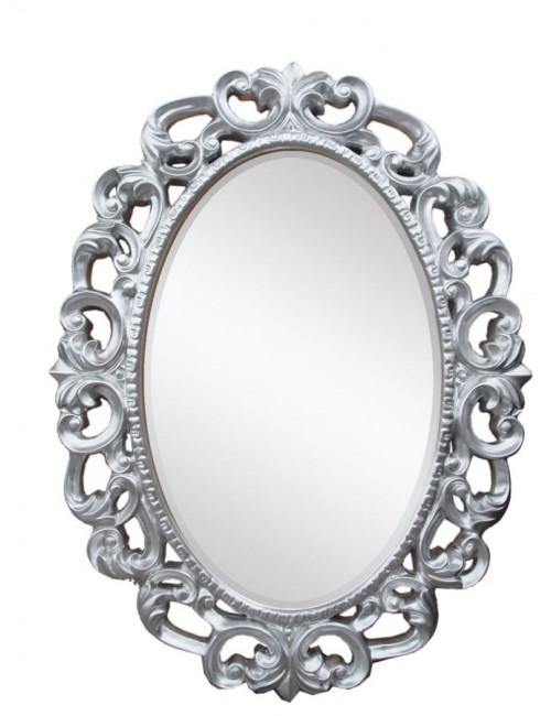Specchio Glamour Argento Maison Bel