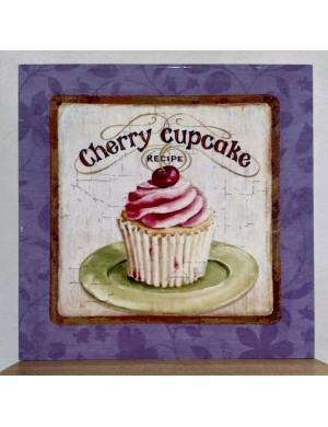 Kitchen cabinet with cupcake 40x40 cm
