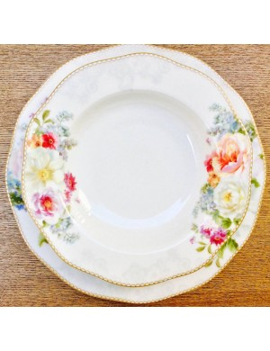 easy life servizio in porcellana romantic lace  18 pezzi