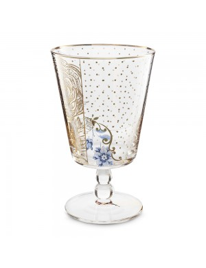 Pip Studio Glass Royal Golden Flower 360 ml