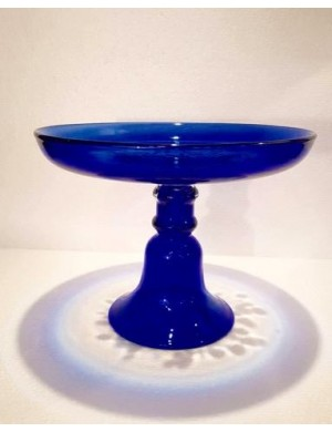 Raised Blue Murano Enzo De Gasperi