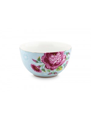 Pip Studio Medium blue floral bowl