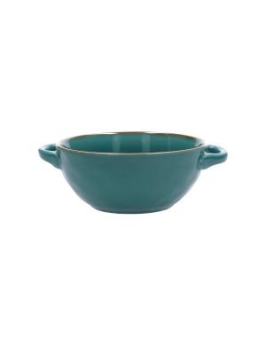Concerto di Rose e Tulipani Collection Soup Bowl with Handles 600 cc