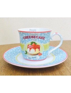 Easy life R2S teacup and saucer Porcelain 200 ml